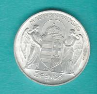 Hungary - Regency - 5 Pengö - Horthy Birthday - 1939 (KM517) - Hongrie