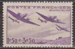 Oeuvres De L'air - 1942 - FRANCE - Aviation, Potez 631 - N° 540 ** - France