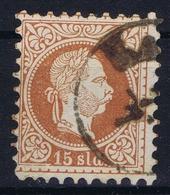 Austrian Post In Levant: Mi 5 II Feiner Druck Perfo K 9,5 Obl./Gestempelt/used - Levante-Marken