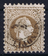 Austrian Post In Levant: Mi 5 II Feiner Druck Perfo K 9,5 Obl./Gestempelt/used - Oriente Austriaco
