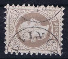 Austrian Post In Levant: Mi 6 II Feiner Druck Perfo K 9,5 Obl./Gestempelt/used - Oriente Austriaco