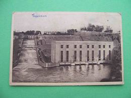 Uzbekistan TASHKENT 1920s Hydro Power Station. Russian Postcard - Uzbekistan