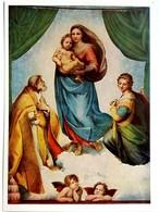 #545  ''Sixtinische Madonna'' By Raffael - Fine Art Picture Postcard - Pittura & Quadri