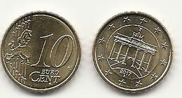 10 Cent, 2017, Prägestätte (A) Vz,  Sehr Gut Erhaltene Umlaufmünze - Germania