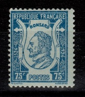 YV 209 N* Ronsard Cote 2,30 Eur - Frankreich