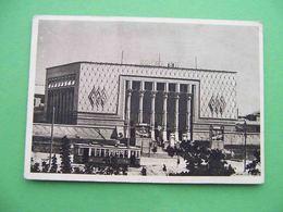 Uzbekistan TASHKENT 1947 Cinema RODINA. Russian Postcard - Uzbekistan