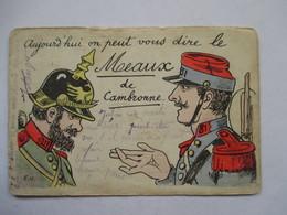 AUJOURD'HUI ON PEUT VOUS DIRE LE  MEAUX DE CAMBRONNE         ETAT MOYEN - Humoristiques