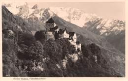 Schloss Vaduz (Liechtenstein)  - 12.07.1937 - Liechtenstein