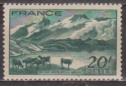 Paysage Du Dauphiné - FRANCE - Lac Lérié Et La Meije, Troupeau De Vaches - N° 582 ** - 1943 - France
