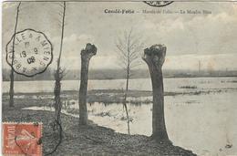 Somme : Condé-Folie, Marais De Folie, Le Moulin Bleu - France