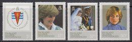 Falkland Islands Dependencies (FID) 1982 21st Birthday Princess Of Wales 4v ** Mnh (41709) - Zuid-Georgia