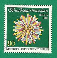 * 1985 N° 699 EXPOSITION FÉDÉRALE D' HORTICULTURE FLEUR SYMBOLIQUE OBLITÉRÉ TB - [5] Berlin