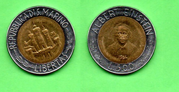 SAN MARINO LIRE 500 1984 - San Marino