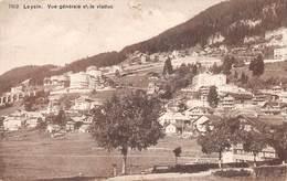 Leysin Vue Générale Et Le Viaduc - VD Vaud