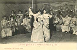 ESPAGNE  SEVILLANAS Bailadas En La Casita Del Casino        édit Stengel&Co - Espagne