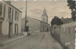 ILE DE NOIRMOUTIER  L EPINE La Mairie Et L Eglise - Noirmoutier