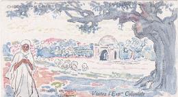 Image Chocolat Menier Visitez L'Exposition Coloniale 1931 - Marabout En Ruines - Menier