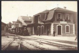 Echallens - La Gare - Bahnhof - Train à Vapeur - Dampflok - Chemin De Fer - Bahn - VD Vaud