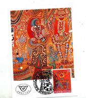 Carte Maximum 1991 Tableau Beatles Pointner - Maximumkaarten