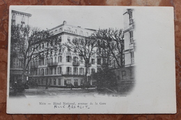 NICE (06) - HOTEL NATIONAL - AVENUE DE LA GARE - RUE ASSALIT - Pubs, Hotels And Restaurants