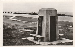 Militaria : COLLEVILLE-sur-MER : Calvados : Omaha-beach : Le Monument Américain : Guerre 1939-45 ( CPSM Photo. Vérit. ) - Weltkrieg 1939-45