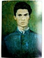 #546   ''Panayot Volov'' By Elsa Goyeva -  Fine Art Picture Postcard 1976 - Pittura & Quadri