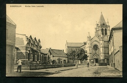 59 Nord CPA Annoeullin Kirche Links Lazarett - France