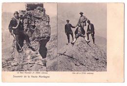 3939 - Alpinisme - Souvenir De La Haute Montagne - Henry Genta ( Turin Munich , Hambourg ) - Alpinismo