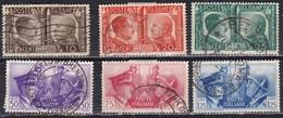 Regno D'Italia, 1941 - Fratellanza Italo-Tedesca - Nr.452/457 Usato° - Usati
