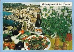 Recette N°112 De Cuisine Aubergines à La Corse Poème D'Emilie Bernard 2 Scans éditions Lyna Fazinco Vin - Ricette Di Cucina