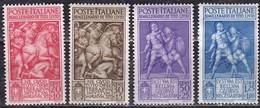 Regno D'Italia, 1941 - Bimillenario Tito Livio - Nr.458/461 MLH* - 1900-44 Victor Emmanuel III