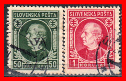 ESLOVAQUIA   SLOVENSKO  2 STAMP AÑO 1939 - Eslovaquia