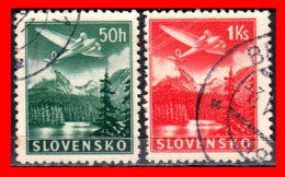 ESLOVAQUIA   SLOVENSKO   STAMP AÑO 1939 PLANES OVER TATRA MOUNTAINS - Eslovaquia