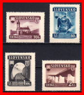 ESLOVAQUIA   SLOVENSKO   STAMP AÑO 1943 SERIE - Eslovaquia