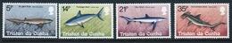 Tristan Da Cunha 1982 Set Of Stamps To Celebrate Sharks. - Tristan Da Cunha