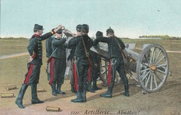 Militaria : Artillerie : Abattez  Feu ! - Guerre 1914-18