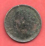 Jeton De Jeu , ROYAUME UNI , VICTORIA REGINA , Laiton , Vers 1860 - Casino