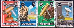 ASCENSION 1986 SG #393-96 Compl.set Used Halley's Comet - Ascension