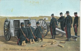 Militaria : Artillerie : à Vos Postes ! - Oorlog 1914-18