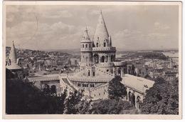Budapest - Halászbastya A Margitszigettel - Escalier Des Pecheurs Avec L'ile De Marguerite - Hongarije