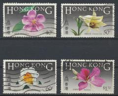 °°° HONG KONG - Y&T N°445/46/47/49 - 1985 °°° - 1997-... Chinese Admnistrative Region