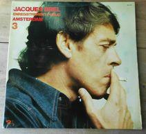 "Vinyle ""Jacques Brel""  Enregistrement En Public ""Amsterdam"" 3 - Collectors"