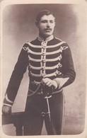 Soldat Armée Militaire Belge  Photo Carte - Documenti