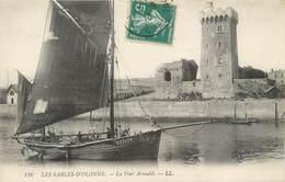 Lot 4 CPA 85 Vendée Sables D'Olonne Le Port Vue Générale Ville Plage Sémaphore Tour Arundel - Sables D'Olonne