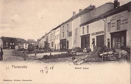 Florenville: Grand' Place.(Café, Boucherie) - Florenville