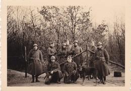 3 Bornes Gemmenich Frontière 1939 Soldat Armée Militaire Belge Et Allemande - Documenti