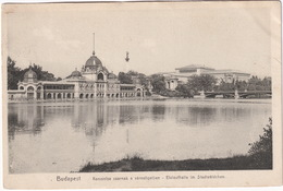 Budapest - Korcsolya Csarnak A Värosligelben - Eislaufhalle Im Stadtwäldchen - Hongarije