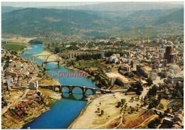 Orense - Vista Parcial Y Puente Sobre El Mino - Orense