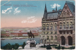Budapest - Országház Andrassy Szobraval - Parlament Mit Monument Andrassy - (1921) - Hongarije
