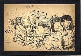 CPSM WWII Guerre 39-45 Satirique Pétain Laval Hitler édition FFI Non Circulé Caricature - Weltkrieg 1939-45